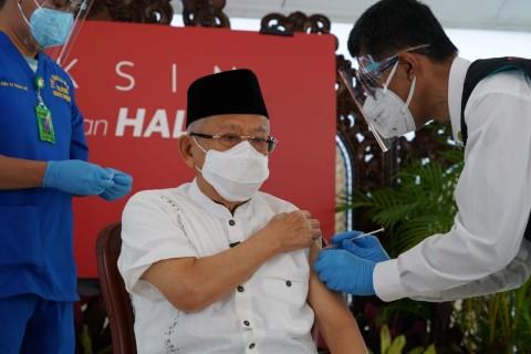 Wapres Dorong MUI Daerah Pakai Vaksin AstraZeneca