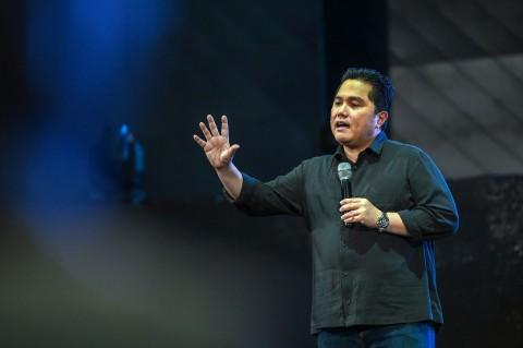 Erick Thohir Minta CEO BUMN Harus Bisa Bersaing dengan CEO Global