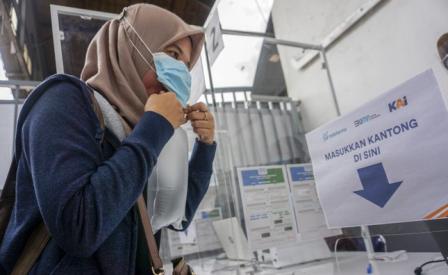 Makassar Uji Coba Layanan Tes GeNose dan PCR bagi SKPD