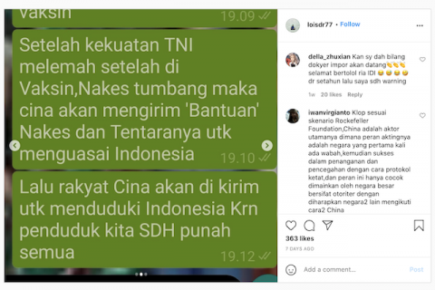 [Cek Fakta] Beredar Video Sebut Vaksinasi Covid-19 Melemahkan Kekuatan TNI? Ini Cek Faktanya