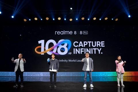 Realme 8 dan Realme 8 Pro Sapa Konsumen Indonesia