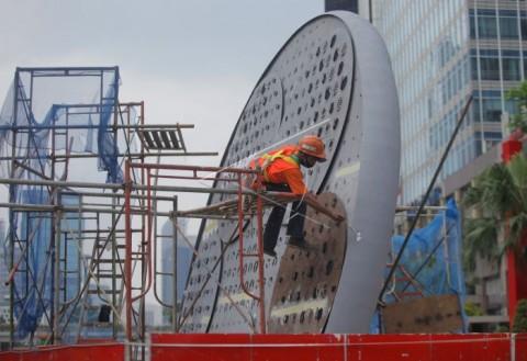 Pembangunan Tugu Sepeda Telan Anggaran Rp800 Juta