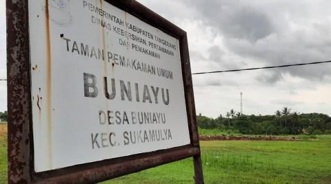 Pemakaman Jenazah Covid-19 di Kabupaten Tangerang Menurun