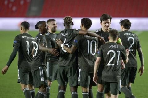Liga Europa: MU Unggul Dua Gol di Markas Granada