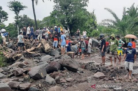 BNPB Kebut Relokasi Rumah Terdampak Banjir Bandang NTT