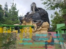 Wahana di Batu Secret Zoo Rusak Akibat Gempa