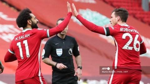 Liverpool vs Aston Villa: Kalahkan Villa, Liverpool ke Empat Besar