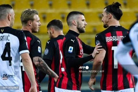 Parma vs Milan: 10 Pemain Rossoneri Bekuk Parma
