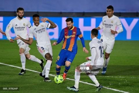 Real Madrid vs Barcelona: Menangkan El Clasico, Madrid ke Puncak Klasemen