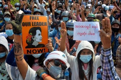 Jumlah Demonstran Tewas di Myanmar Lampaui 700