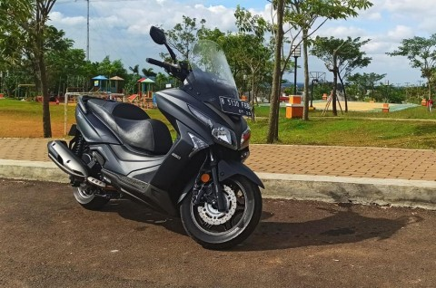 Kymco X-Town 250i, Motor Nyaman Buat Touring Jauh