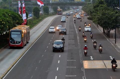 Polisi Telusuri Pesepeda Motor Masuk Tol Dalam Kota