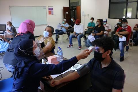 1.075 Dosen dan Pegawai Telkom University Sudah Disuntik Vaksin Covid-19