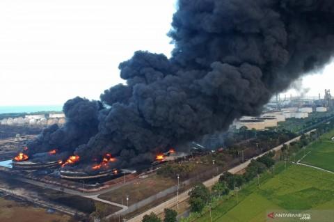Bukti Kebakaran Kilang Pertamina Balongan Diuji Lab