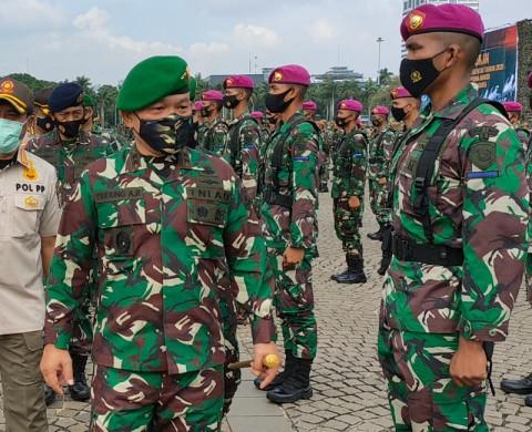 Pasukan Denwalsus Bentukan Prabowo Diisi 100 Prajurit TNI