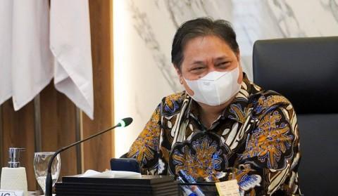 Airlangga: RI Berada di 9 Besar Negara Terkait Realisasi Vaksinasi