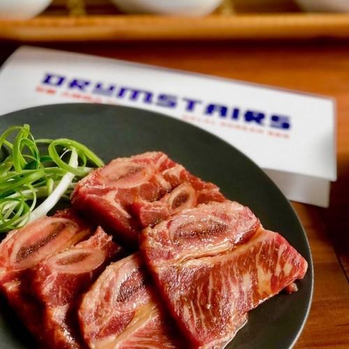Salah satu menu Halal Korean Barbeque di Drumstairs. (Foto: Drumstairs)