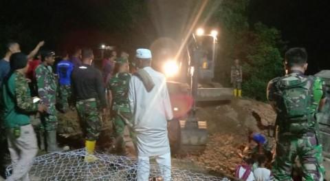 Pascabanjir, Zeni TNI AD Kebut Perbaikan 3 Jembatan Utama di Bima