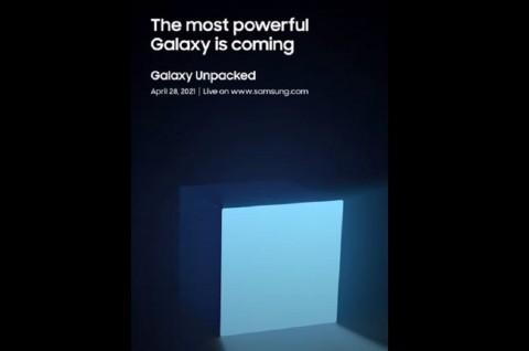Ada Acara Samsung Galaxy Unpacked pada 28 April