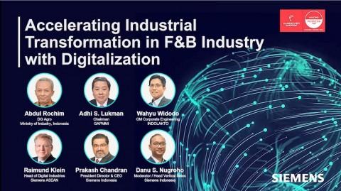 Siemens Tekankan Pentingnya Transformasi Digital Sektor F&B