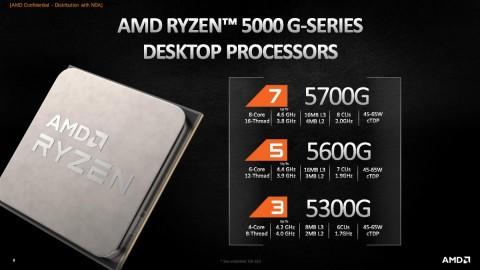 AMD Rilis Jajaran Prosesor Desktop Ryzen 5000-G Series Model APU