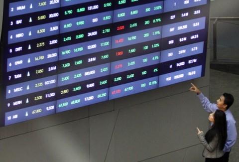 Terdorong Data Surplus Perdagangan, IHSG Naik 0,48%