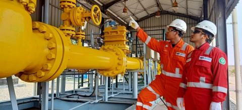 Penjualan Gas PGN Awal Tahun Lampaui Target