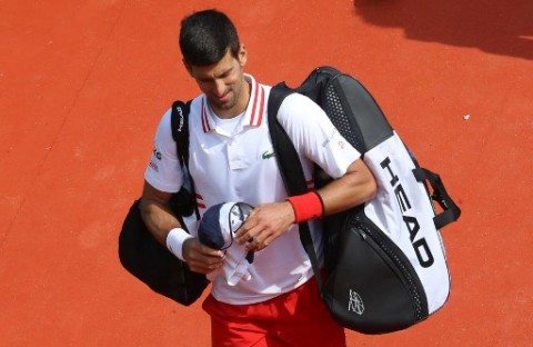 Kejutan, Novak Djokovic Disingkirkan Petenis Nonunggulan