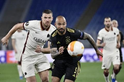 Liga Europa: Imbang dengan Ajax, Roma Tetap Melangkah ke Semifinal