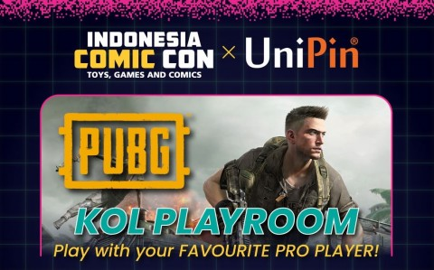 Gandeng UniPin, Indonesia Comic Con Gelar 3 Acara Gaming