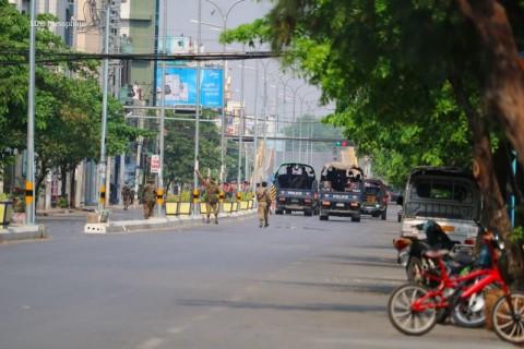 Pasukan Myanmar Tabrak dan Culik Aktivis Muslim Penentang Kudeta