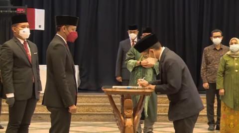 Percepat Transformasi Pendidikan, Nadiem Lantik Kepala Balitbangbuk Baru