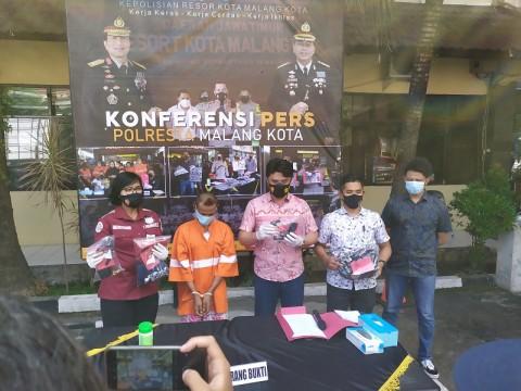 Pengamen Gondol Duit Rp34 Juta di Minimarket di Malang