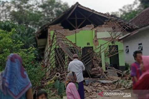77 Tempat Ibadah di Jatim Rusak Terdampak Gempa