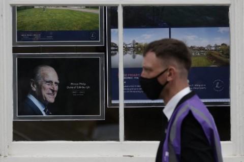 700 Pasukan Inggris Dukung Upacara Pemakaman Pangeran Philip