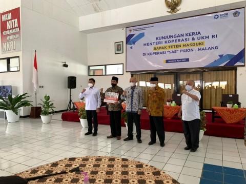 Omzet Koperasi dan UMKM Kabupaten Malang Tembus Rp50,9 Triliun