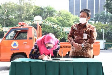 Bantuan Rp150 Juta Dibagikan ke Warga Terdampak Gempa