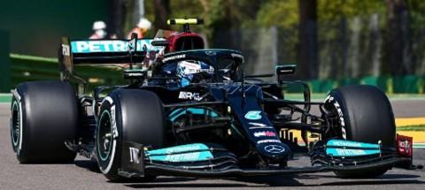 Valtteri Bottas Pimpin Free Practice II GP Emilia Romagna