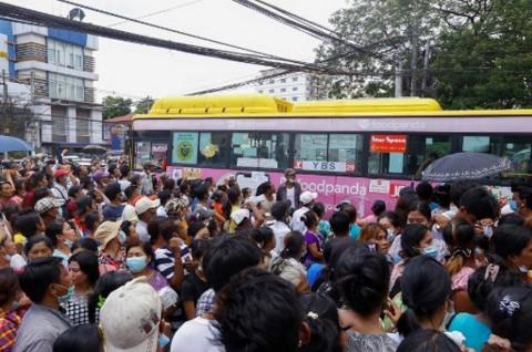 Junta Myanmar Bebaskan 23 Ribu Tahanan di Tahun Baru Buddha