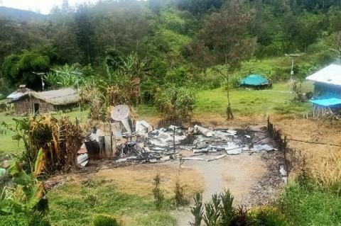 KKB Kembali Bikin Ulah, Rumah Kepala Suku Dibakar