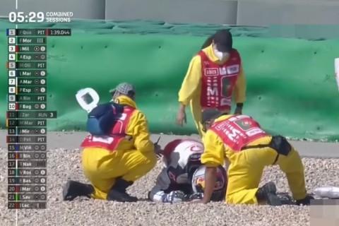 Kecelakaan Parah di FP3 MotoGP Portugal, Jorge Martin Patah Tulang