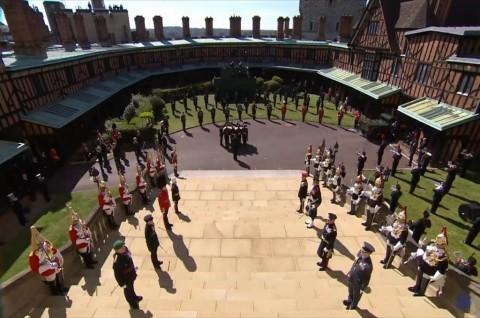 Meghan Markle Saksikan Pemakaman Pangeran Philip dari California