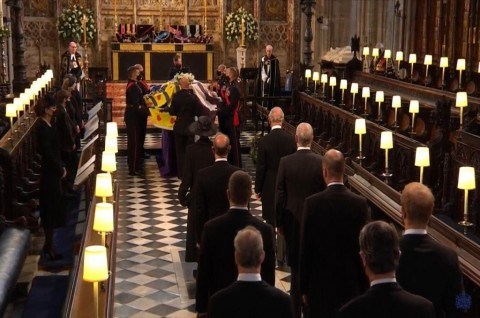 Prosesi Pemakaman Pangeran Philip Dimulai