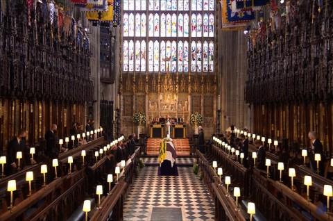 Inggris Mengheningkan Cipta Satu Menit untuk Kenang Pangeran Philip