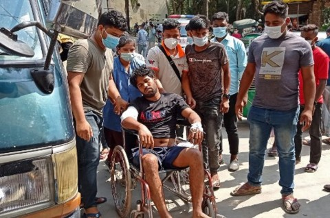 5 Buruh Tewas dalam Bentrokan dengan Polisi di Bangladesh