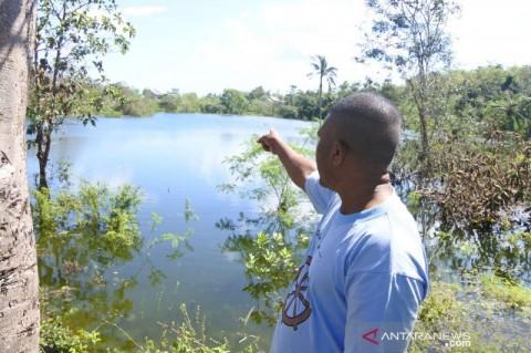 Danau Baru Muncul di Kota Kupang Usai Badai Seroja