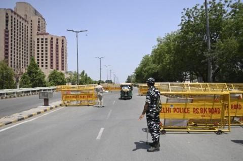 Kasus Terus Bertambah, New Delhi Lockdown Selama Sepekan