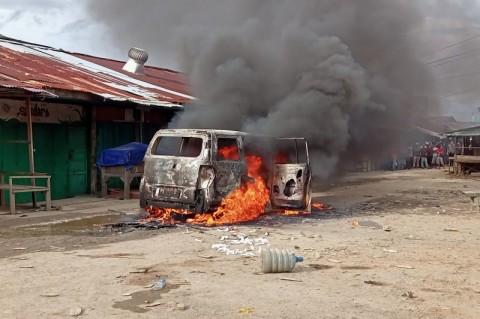 Perkelahian Warga di Sorong, 1 Tewas dan 1 Mobil Dibakar