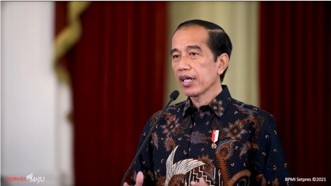 Jokowi: Pengendalian Covid-19 Kunci Pertumbuhan Ekonomi