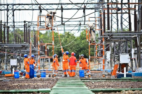PLN Penuhi Pasokan Listrik untuk Industri <i>Smelter</i> di Sulawesi